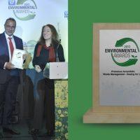 Enviromental award 2013